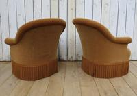 Pair Of French Crapaud Tub Armchairs (3 of 8)