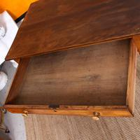Desk Writing Table Victorian Pine (6 of 9)