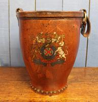 Antique Leather Fire Bucket (2 of 11)