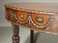 Well Carved Late 19th Century Mahogany Centre Standing Table (4 of 7)