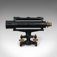 Antique Surveyor's Level, English, Brass, Scientific Instrument, Halden & Sons (8 of 11)