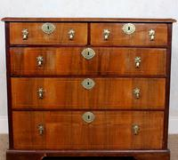 18th Century Chest of Drawers Swedish Inlaid Walnut (4 of 12)