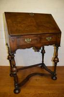 Lovely William & Mary Design Walnut Bureau (2 of 9)
