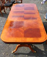 1960's Mahogany Pull Out Table with Set of 6 Dining Chairs.4+2 Carvers (14 of 14)