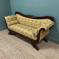 Spectacular Regency Mahogany Antique Sofa / Settee (7 of 9)