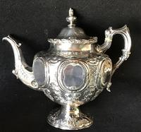 Outstanding Mid Victorian Silver Plated 4 Piece Tea Service (5 of 7)
