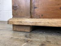 Pitch Pine and Oak Settle Bench with Storage (M-1522) (2 of 10)