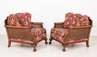 Good Quality Mahogany Bergere Suite (13 of 14)