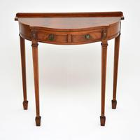 Antique Georgian Style Mahogany Console Table (2 of 8)