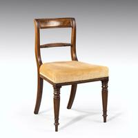 Good Set of Regency Period 4+2 Mahogany Framed Chairs (2 of 4)