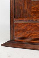 Small Edwardian Arts & Crafts Oak Cabinet (6 of 16)