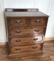 Edwardian Mahogany Chest of Drawers (4 of 13)
