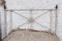 Simple Pair of Single Victorian Iron & Brass no End Beds - Can be Joined (4 of 8)