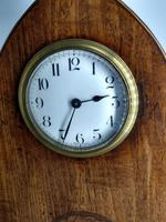 Late Victorian French Escapement Gothic Style Mantel Clock (2 of 9)