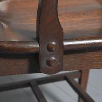 Rare Antique Set of 34 American Oak Chairs (14 of 15)
