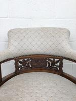 Pair of Victorian Mahogany Tub Chairs (14 of 17)