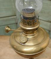 German Brass Oil Lamp by FHRICH GRIFTZ, BERLIN (3 of 7)