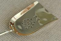 Quality Antique Adam Style Brass Fire Irons Companion Set Tongs Poker Shovel (5 of 9)