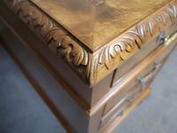 Antique Burr Walnut Partners Desk (8 of 12)