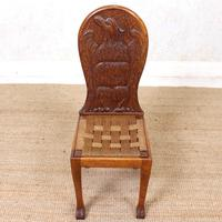 Carved Oak Eagle Chair (3 of 9)