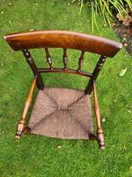 19th Century Victorian Child's Armchair (5 of 7)