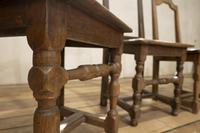 Set of Four French 18th Century Backstool Chairs (9 of 13)