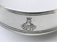 Rare Victorian Silver Decanter Label Collar (3 of 5)
