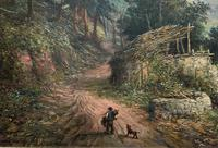 William R Stone Lovely Dolgilly North Wales Landscape Painting (6 of 13)