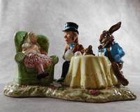 Royal Doulton, Beswick  Ware, Limited Edition, The Mad Hatter's Tea Party Tableau (11 of 12)