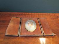 Antique Miniature Portrait in Original Case (3 of 9)
