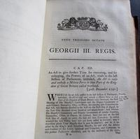 1798  94 Government Acts Passed in the 38 Year of the Reign of King George the Third (2 of 8)