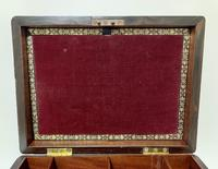 Antique Rosewood Jewellery Box (7 of 13)