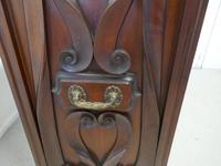 Large Victorian Mahogany Shop Display Music Cabinet (18 of 18)