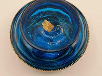 Antique 19th Century Moser Glass Enamel Box (7 of 11)