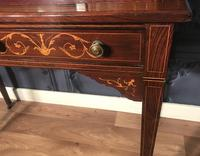 Edwardian Inlaid Rosewood Desk (17 of 23)