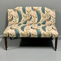 Newly Upholstered Window Seat & Stool (3 of 6)