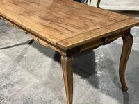 French Oak Farmhouse Kitchen Dining Table (11 of 18)