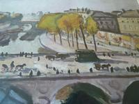 "After Albert Marquet - Vintage Print "" Pont St.Michael "" (2 of 3)"