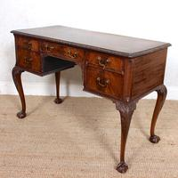 Carved Walnut Writing Desk (11 of 12)