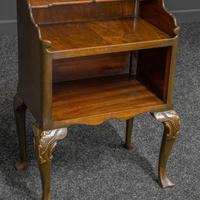 Early 20th Century Small Mahogany Bookstand (6 of 7)