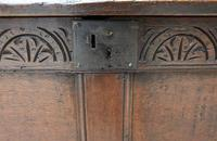 Handsome 17th Century Small Proportioned Oak Coffer/ Chest c.1680 (11 of 14)