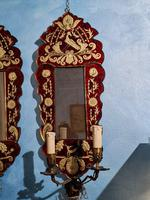 Pair of Venetian Mirrors with Applique, 1880 (9 of 9)