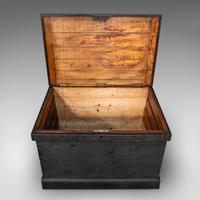 Antique Master Craftsman's Chest, English, Pine, Mahogany, Tool Trunk, Victorian (9 of 12)