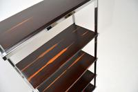 1970's Vintage Rosewood & Chrome Bookcase by Pieff (3 of 9)