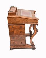 Victorian Davenport Desk Walnut Inlay c.1860 (13 of 14)
