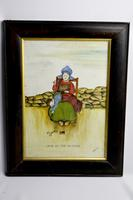 19th Century Dutch Comical Oil on Canvas by H Rowbotham (12 of 15)