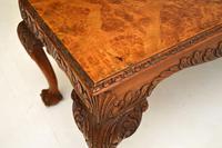 Antique Burr  Walnut Coffee Table (6 of 9)
