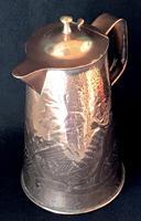 Arts & Crafts Copper Repousse Jug (3 of 5)