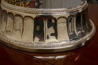 Large Vintage Mirror Top Elkington Silver Plate Wedding Cake Stand (8 of 8)