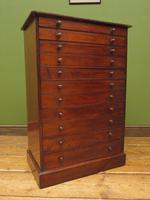 Antique Victorian Collectors Specimen Chest of Drawers (11 of 18)